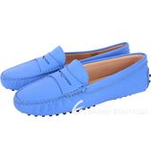 TOD'S GOMMINO 經典牛皮豆豆休閒鞋(女鞋/天空藍) 1440255-D6