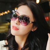 太陽鏡 墨鏡新款偏光太陽鏡圓臉女士墨鏡女潮防紫外線gm眼鏡韓版大臉ins 最後一天85折