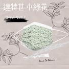 (台灣製外銷款 雙鋼印) 達特世(小綠花...