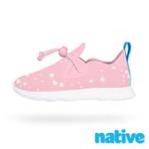native 小童鞋 APOLLO MOC 小莫卡辛鞋-粉色小星盤