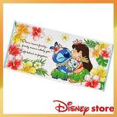 日本迪士尼史迪奇毛巾浴巾長方巾與女孩689716通販屋