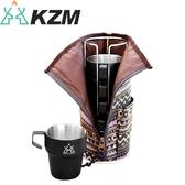 【KAZMI 韓國 不鏽鋼雙層300ml馬克杯5入組《啞光黑》】K8T3K004/戶外餐具/露營餐具/不鏽鋼杯