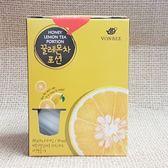 (韓國) VONBEE 檸檬茶球禮盒 1盒300公克(10入)【8803217015315】