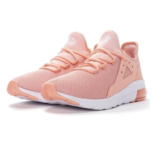 PUMA Electron Street 女款粉色運動休閒鞋-NO.36730906