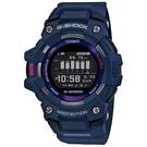 CASIO 卡西歐 G-SHOCK G-SQUAD 智能藍牙多功能運動電子錶-藍 GBD-100-2