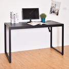 電腦桌 工作桌 桌子 書桌 馬鞍皮革128x60x77cm工作桌 凱堡家居【B12125】