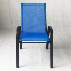 邦尼網布單人椅 藍色