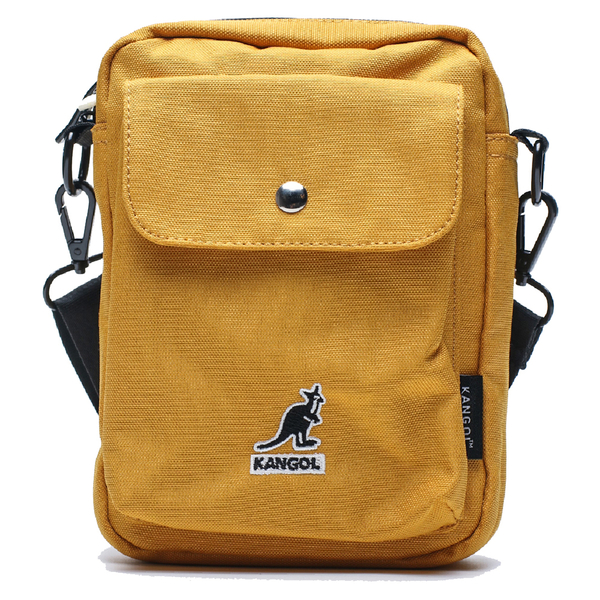 KANGOL 黃色 口袋 腰包 小包 隨身包 包包 (布魯克林) 6955300960