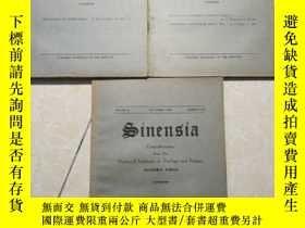 二手書博民逛書店inensia罕見contributions from the