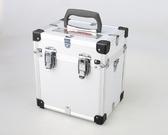 多功能重型工業級手提單肩鋁合金工具箱相機儀器改裝展示箱化妝箱 樂活生活館