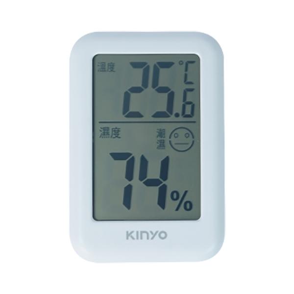 【超人百貨】KINYO 電子式 溫溼度計 TC-14 大螢幕 溫度計 濕度計 攝氏 華氏 磁吸 可站立