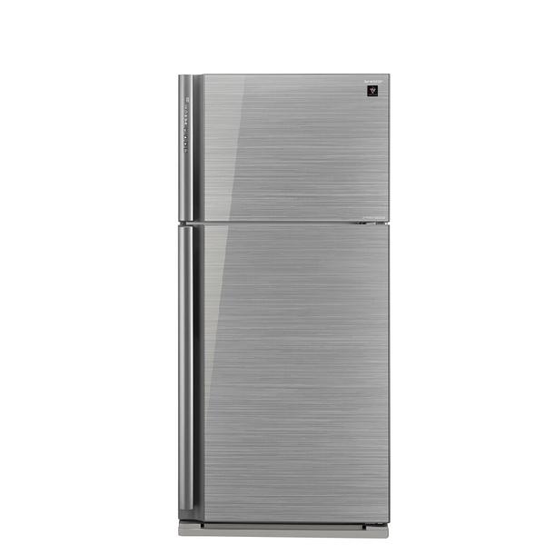 【送陶板屋餐券6張 14天後寄出】回函贈SHARP夏普541公升雙門變頻玻璃鏡面冰箱SJ-GD54V-SL