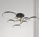 燈飾燈具【燈王的店】哥本哈根 LED 60W 半吸頂燈6燈 三色變光 客廳燈 餐廳燈 吧檯燈 910451