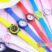 兒童指針錶 韓版撞色兒童手錶 小學生男女孩指針式石英腕錶 運動防水休閒潮錶 10色
