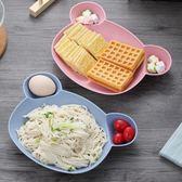 小麥秸稈兒童餐具分格餐盤套裝寶寶輔食防摔家用幼兒園餐盒吃飯碗 限時八折鉅惠 明天結束