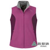 《歐都納 ATUNS》 女 Windstopper 保暖背心 『紅紫』 V1508W