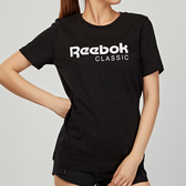 Reebok Classics 女款 黑色 經典 基本款 LOGO 短袖 DT7224