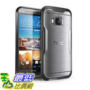 [104美國直購] 防塵防撞保護殼  HTC ONE M9 TPU PC SUPCASE Unicorn Beetle Series Premium Hybrid Protective Clear