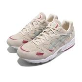 Asics 休閒鞋 Gel-Diablo 米白 綠 紅 復古 麂皮 亞瑟 男鞋 女鞋 【ACS】 1193A014200
