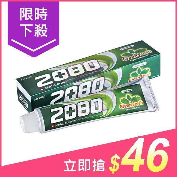 韓國 2080 綠茶清新護齦牙膏(120g)【小三美日】原價$58