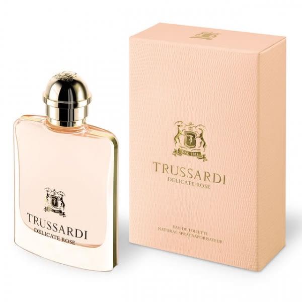 Trussardi Delicate Rose 晶漾玫瑰女性淡香水100ML【UR8D】