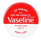 歐洲版 Vaseline 玫瑰 護唇膏 小圓罐造型