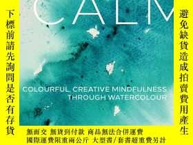 二手書博民逛書店Paint罕見Yourself Calm: Colourful,