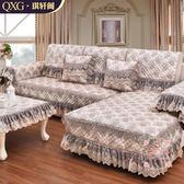 萬能沙發罩 四季通用亞麻沙發墊防滑全蓋簡約歐式布藝棉麻定制