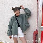 牛仔外套 牛仔外套女春季新款牛仔衣韓版學生寬鬆百搭短款長袖夾克bf潮 唯伊時尚