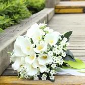捧花 手捧花白色女婚禮新娘小手拿花束婚禮 莎拉嘿幼