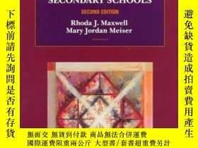 二手書博民逛書店Teaching罕見English In Middle And Secondary Schools-中學英語教學奇
