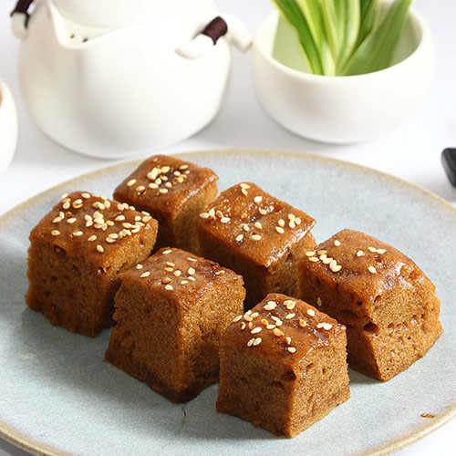 【富品家】米果子黑糖糕家庭組(6味米果子家庭包、黑糖糕各2入)
