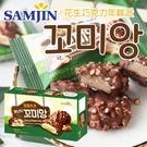 韓國 SAMJIN 花生巧克力年糕派 (...