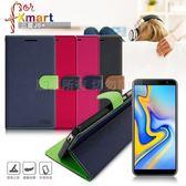 【台灣製造】FOCUS for Samsung Galaxy J6+ 糖果繽紛支架皮套 - 黑 / 桃 / 紅 / 藍