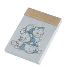 《sun-star》迪士尼法式小可愛系列點點方格便條本(三兄弟)★funbox生活用品★_UA48810