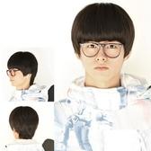 男假髮(整頂短髮)-韓版個性帥氣齊瀏海男配件3色73fj4【時尚巴黎】