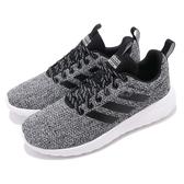 adidas 休閒慢跑鞋 Lite Racer CLN 黑 白 基本款 女鞋 運動鞋【PUMP306】 F34594