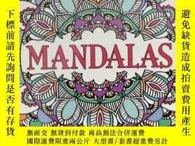二手書博民逛書店Mandalas:罕見Creative Colouring fo