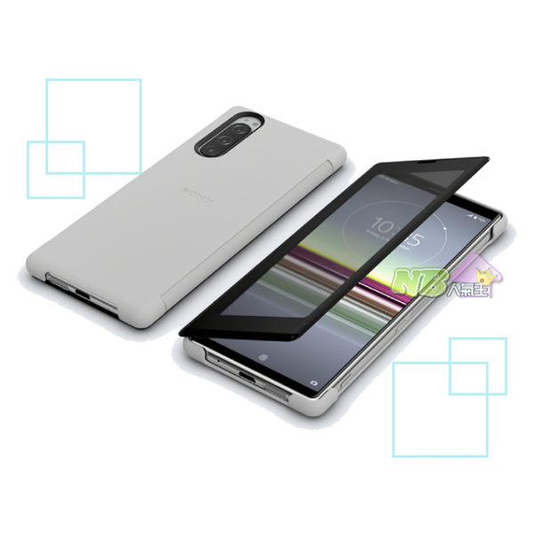 SONY Xperia 5 專用 原廠 視窗 保護殼 SCVJ10