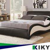 【KIKY】二代英式飯店指定款床邊加強獨立筒床墊-雙人加大6尺