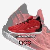 adidas 籃球鞋 Dame 7 GCA 紅 黑 男鞋 Lillard 里拉德 運動鞋 【ACS】 FZ0206