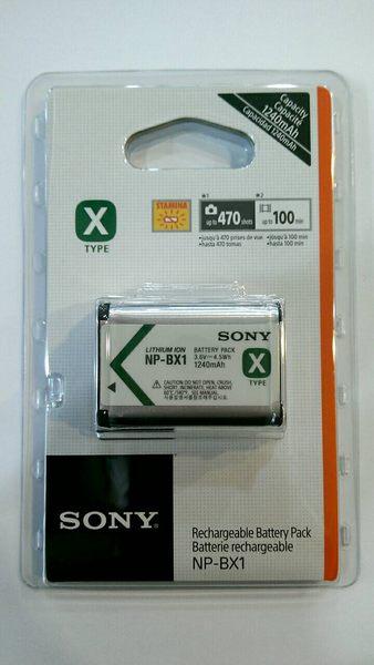SONY NP-BX1 原廠鋰電池 全新【完整盒裝】