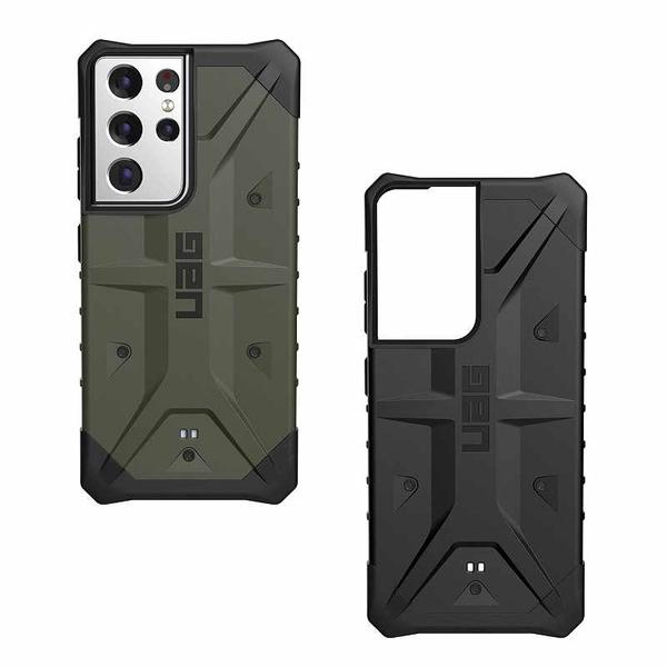 UAG 手機保護殼 適用Galaxy S21 Ultra (6.8吋) 黑/藍/綠/銀 [2美國直購]