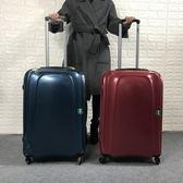 外貿超輕紅色20寸拉桿箱超靜音萬向輪行李箱【洛麗的雜貨鋪】