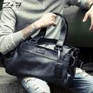 男包側背包斜背包手提包韓版手拿休閒旅行包男士包包 黛尼時尚精品