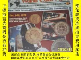 二手書博民逛書店World罕見Coin News(Vol.22,No.25)(D