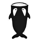 BabyBites 西班牙鯊魚咬一口 兒童睡袋(標準版)-小殺人鯨[衛立兒生活館]