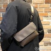 男士單肩包男款斜背/側背包小包潮流時尚學肩包男生個性挎包日常街頭新 電購3C