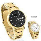 范倫鐵諾˙古柏 金色不鏽鋼錶NEV67
