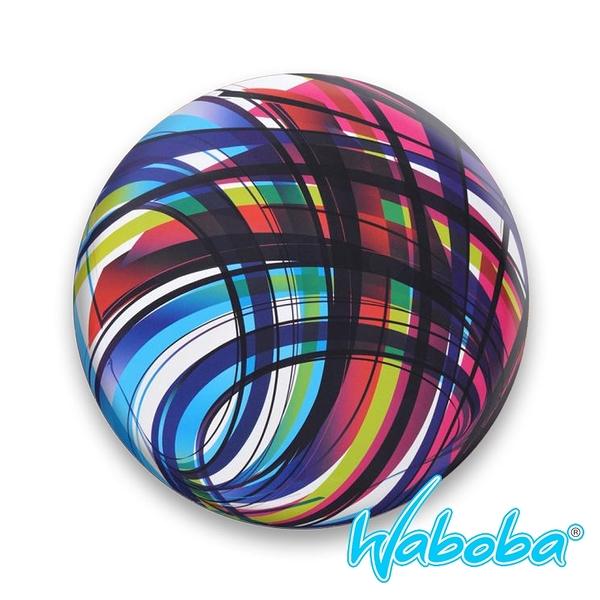 【Waboba】軟式飛盤/藝術家 系列2『魔幻色彩』302C01 戶外 出遊 沙灘 海岸 親子 遊戲 兒童 公園 飛盤